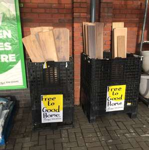 Homebase the gift that keeps giving - Free Wood Flooring instore @ Preston store