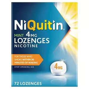 Niquitin Mint Lozenges 4mg 72s - £6.50 @ Superdrug