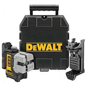 DeWalt 3-Way Self-Levelling Ultra Bright Multi-Line Laser - Amazon - £155.91
