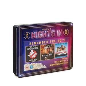 'Great Nights In' - 3 DVDs and Popcorn Set - £5.55 @ Debenhams