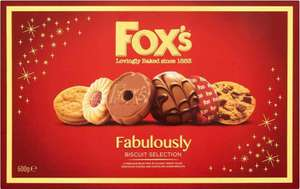 Fox's Fabulously Biscuit Selection - £2 @ Tesco