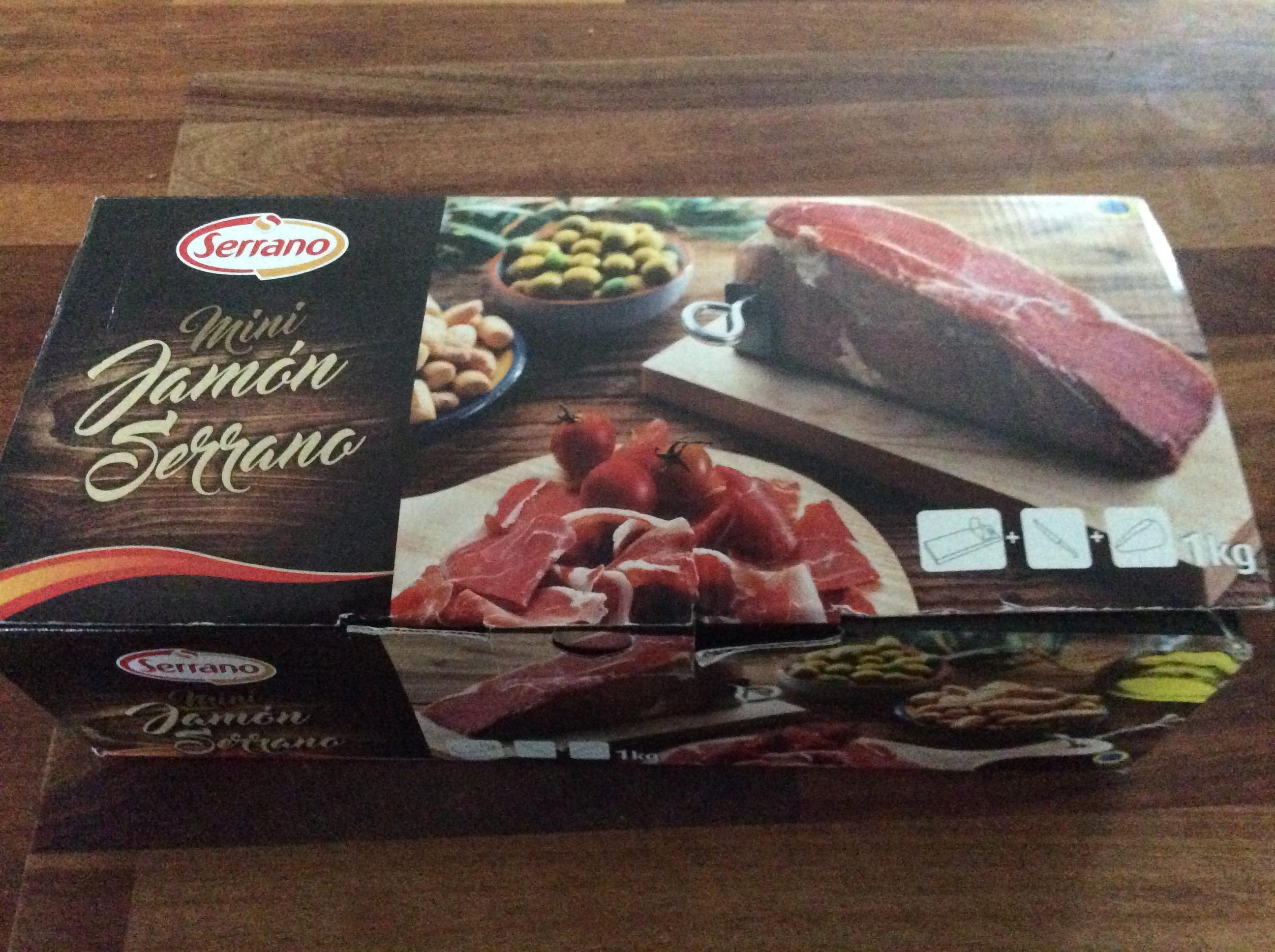 Iceland Serrano Ham small 1kg - £5 instore