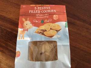 Tesco mincemeat filled cookies - 21p instore @ Tesco
