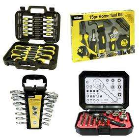 Rolson 104-piece Home DIY Kit now £29.99 C+C + £5 voucher back @ Maplin (7 in 1 Stubby Screwdriver Set £1 C+C)