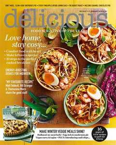 3 issues for £3 Delicious Magazine
