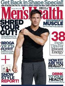 5 issues of Men's Health Magazine for £5 @ Magazine.co.uk