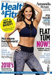 Three issues for Heath and Fitness for £3 @ Magazine.co.uk