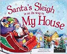 Santa's Sleigh Is On Its Way To My House book - 75% off (was £4.99) now only £1.24 instore @ Card Factory
