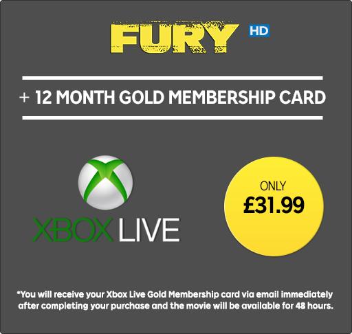 Xbox LIVE Gold 12 months £31.99 @ Rakuten.tv