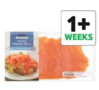 Tesco Smoked Salmon Slices 300g £3.25 @ Tesco