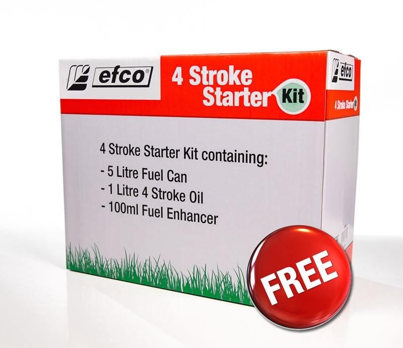 efco 4 Stroke Starter Kit @ Homebase £4.50
