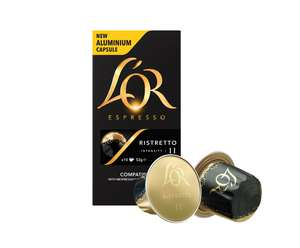 L'OR (Made by Douwe Egberts) Expresso Ristoretto Coffee (10 PACK) was £1.99 now £1.00 @ Poundstretcher