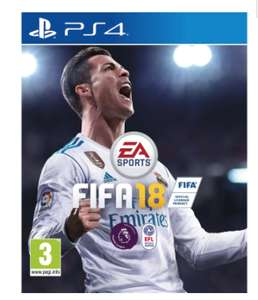 Fifa 18 PS4 and Xbox One £32.00 @ AO.com