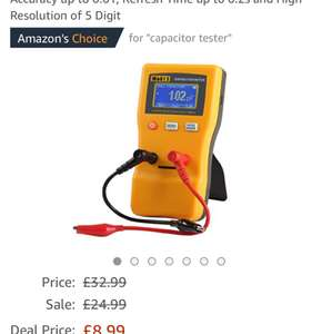 Jingyan M6013 Digital Auto Ranging Capacitance Meter £8.99 Sold by EKEYUK and Fulfilled by Amazon - Lightning deal