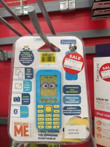 Sim free minions feature phone £12 Asda Stockton