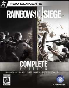 Tom Clancys Rainbow Six Siege Complete Edition PC - £31.49 CDKeys (29.92 with 5% code)