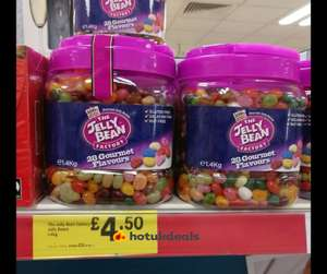 Jelly Bean Factory 1.4kg £4.50  in store at Iceland