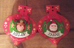 Personalised Baubles 25p! Instore @ Poundland