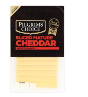 Pilgrims Choice Mature Cheese slices £1 @ Tesco