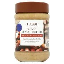 Tesco 100% Peanut Butter 280G £1.50