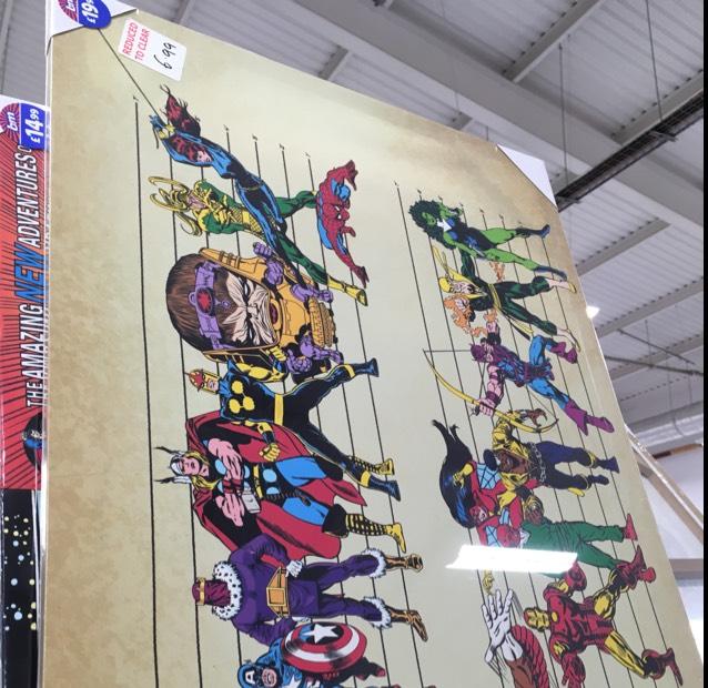 Large Marvel Canvas £6.99 @ B&M