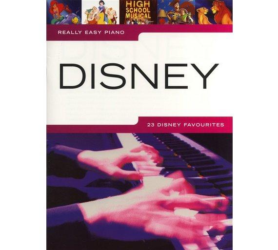 Hal Leonard Europe Really Easy Piano - Disney £14.99 @ Argos