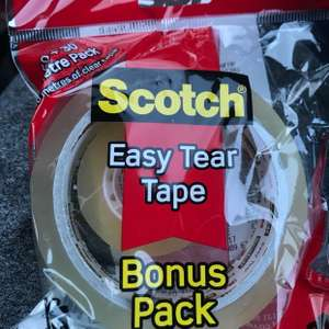 Scotch easy tear tape bonus pack 25p instore @ Asda wath-upon-dearne