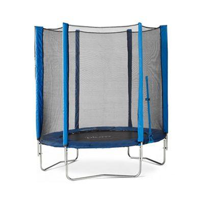 Plum - 6ft trampoline - blue Now £49.50 Save £115.50 Was £165.00 - Debenhams