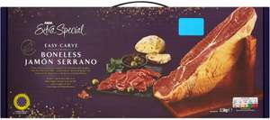 2.5kg Easy Carve Extra Special Boneless Serrano Ham £10 @ Asda (Warrington)