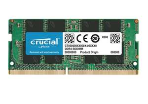 8GB Crucial 2400Mhz DDR4 SO-DIMM Laptop RAM £42.99 @ Amazon prime exclusive