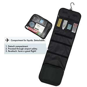 Hanging toiletry bag @ Amazon - £16.97 Prime / £20.96 non-Prime  - Sold by Normalite / Fulfilled by Amazon