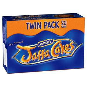 Mcvities Jaffa Cakes Twin Pack (pack of 20) for 94p @ Tesco In-Store and Online