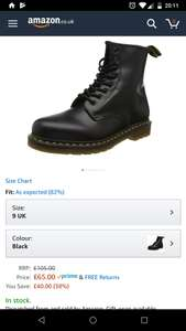 Classic black Dr Martens 1460 - £65 @ Amazon - various sizes