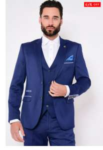 Marc Darcy Men's 3 piece suit (quite a few sizes available) £59.97 delivered