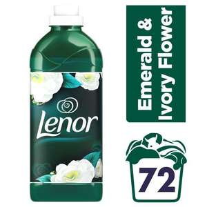 Lenor Parfumelle Emerald & Ivory Flower 72 Washes 1.8L £3 @ Morrisons