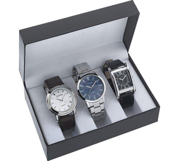 Constant Men's Set of 3 Watches, £19.99 from Argos