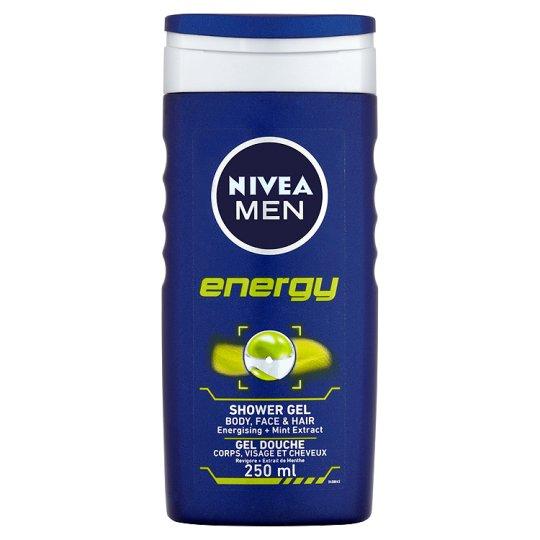 NIVEA MEN SHOWER GEL 250ML - £1.80 @ Tesco (Cashback via Checkoutsmart takes it to 40p)