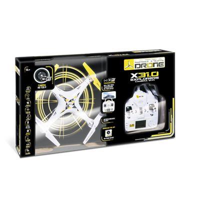 DRONE Mondo - X31.0 Explorers Fpv Camera Wi-Fi SD Card 70% OFF at DEBENHAMS - £36