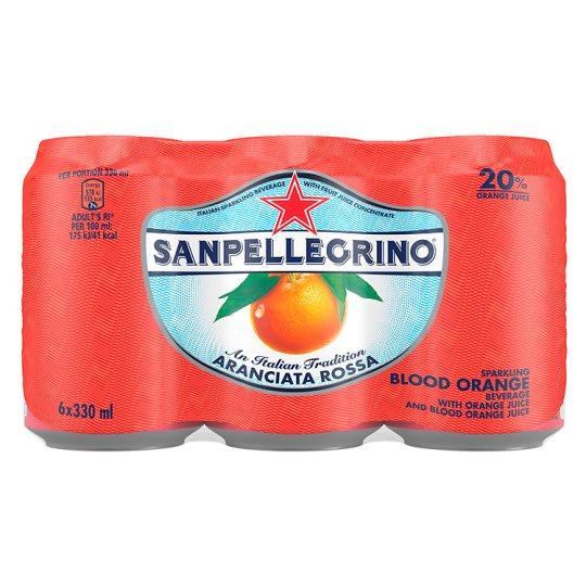 San Pellegrino (Sparkling Limonata, Aranciata & Aranciata Rossa) 6X330ml @ £3.00 was £3.79 Tesco