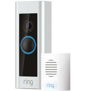 Ring Pro Video Doorbell Kit With Chime £179.99 - ao.com