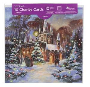 All boxed Christmas cards for 99p at WhSmiths instore