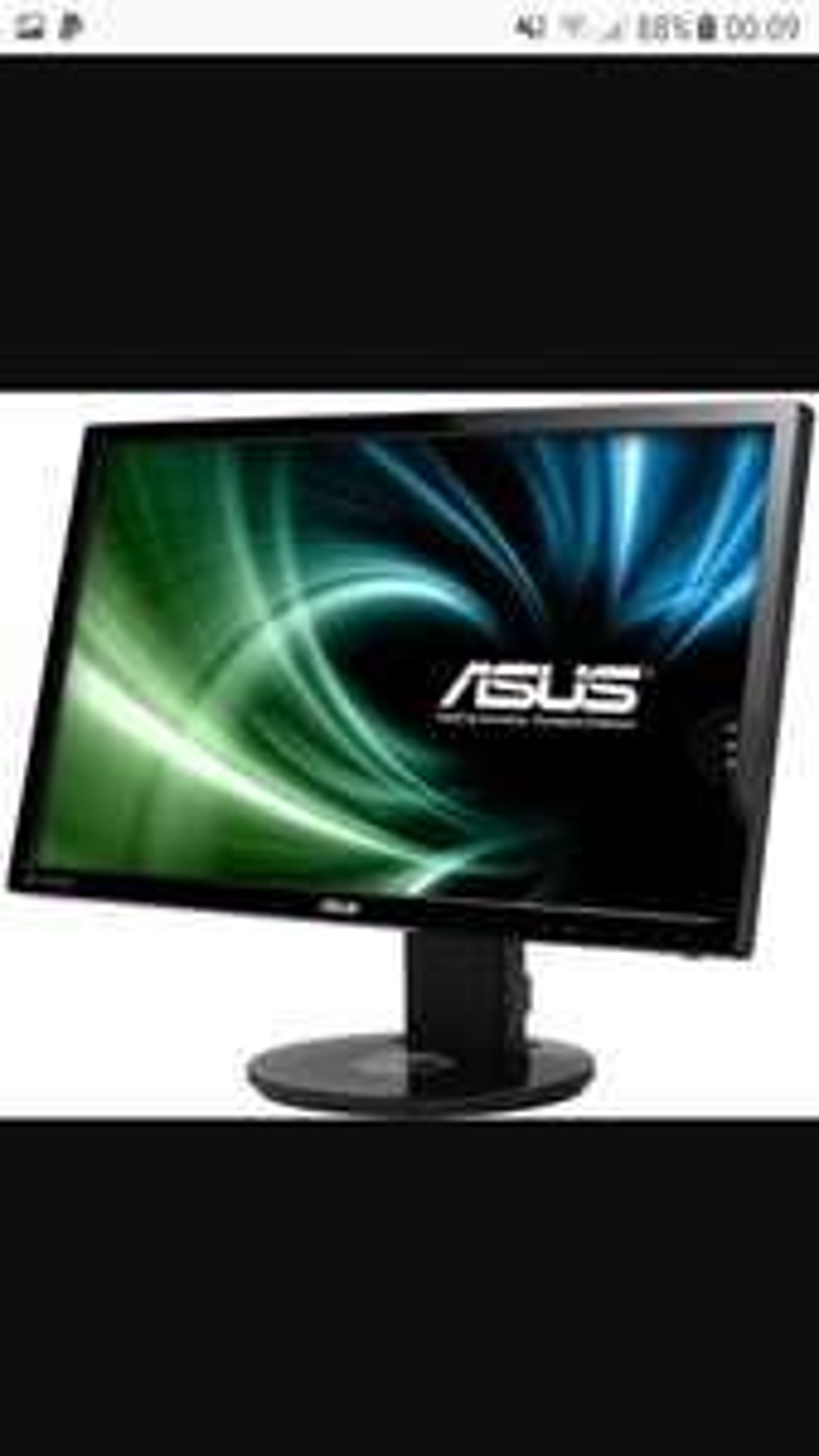 """ASUS VG248QE Monitor 24"""" Widescreen 144z Gaming Monitor £226.69 - Box.co.uk"""