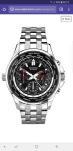 Sekonda - Men's silver 'World Timer' bracelet watch £30 at Debenhams - Perfect watch for your holidays