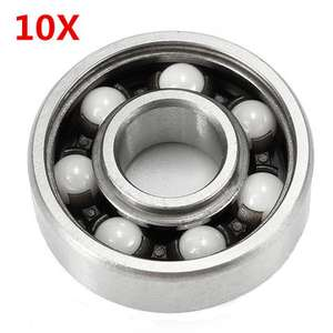 10pcs 8x22x7mm Replacement Ceramic Ball Bearing £4.95 -  Banggood