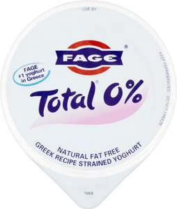 Fage Total 0% fat Greek yoghurt 170g reduced to £0.75 at Asda but £0.50 cashback via TCB Snap & Save making it £0.25