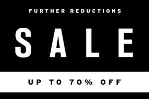 TOPSHOP SALE boost now up to 70% off. Underwear and Accessories from £1, Tops from £2, Dresses from £7