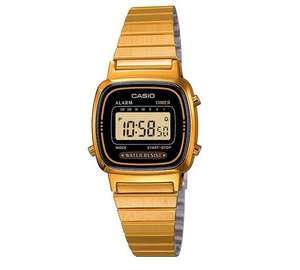 Casio Ladies' Gold Tone Digital Watch £32.99 @ argos.