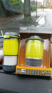 Homebase Acton - led lantern and torch combo with BUILT IN 1000mah usb powerbank £5