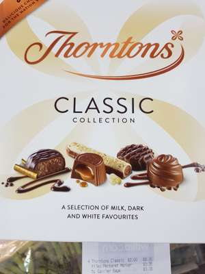 Thorntons classic collection 248g - £2 @ Wilko
