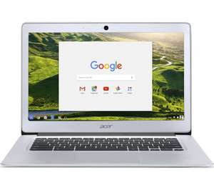 "ACER CB3-431 14"" Full HD Chromebook - Silver £234.98 @ instore Currys Wandsworth"